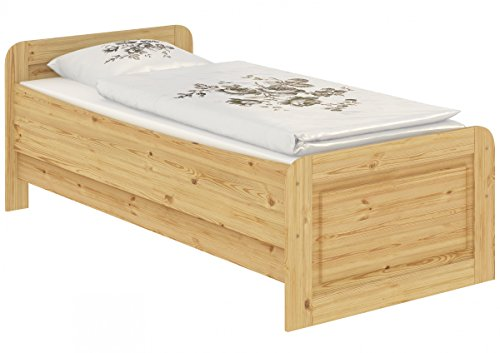60.42-10 oR Seniorenbett Massivholz 100 x 200 cm, extra hohes Bett - 6
