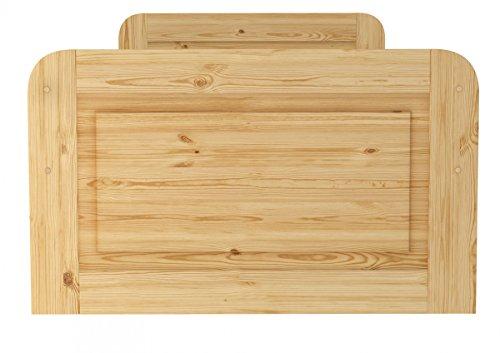60.42-10 oR Seniorenbett Massivholz 100 x 200 cm, extra hohes Bett - 8
