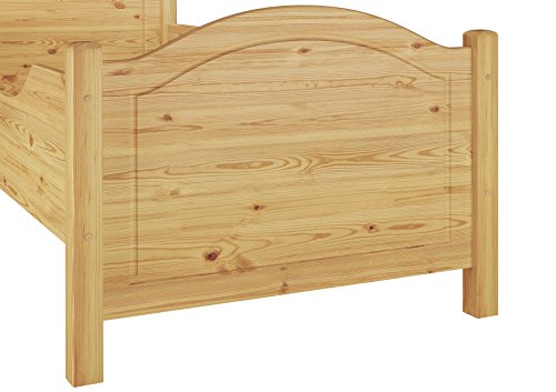 60.40-10 Seniorenbett Kiefer Massivholz 100×200 cm kompl. mit Rollrost - 3