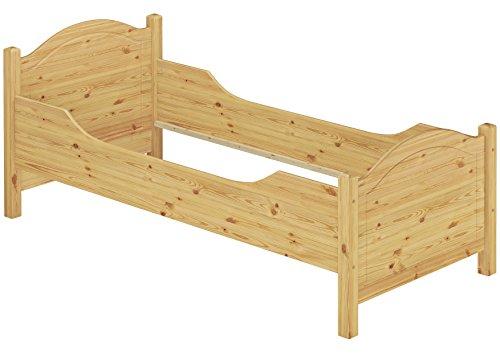 60.40-10 Seniorenbett Kiefer Massivholz 100×200 cm kompl. mit Rollrost - 2