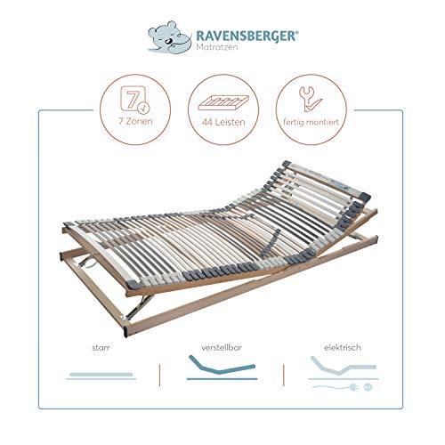 Ravensberger MEDIMED orthopädischer 7-Zonen-Lattenrost aus Buchenholz, LGA und TÜV geprüft - 2