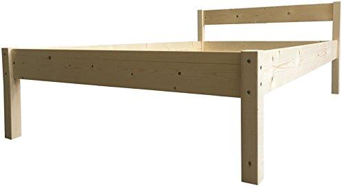 LIEGEWERK Seniorenbett erhöhtes Bett 55cm