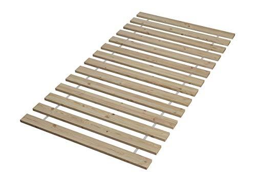 60.70-10 Seniorenbett Buche extra hoch, 100×200 cm, mit Rollrost - 4