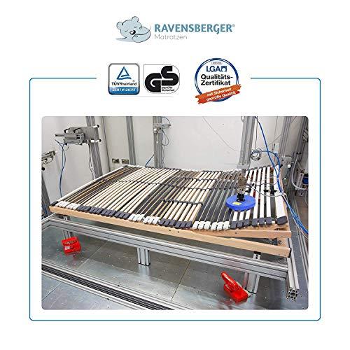 Ravensberger MEDIMED orthopädischer 7-Zonen-Lattenrost, LGA und TÜV geprüft - 4