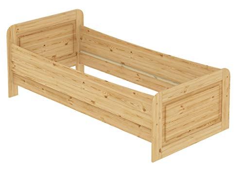 60.42-09 Seniorenbett Massivholz 90 x 200 cm, extra hohes Bett - 8
