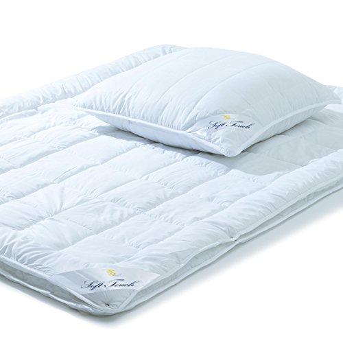 aqua-textil Soft Touch, Bettdecken Set, 135 x 200