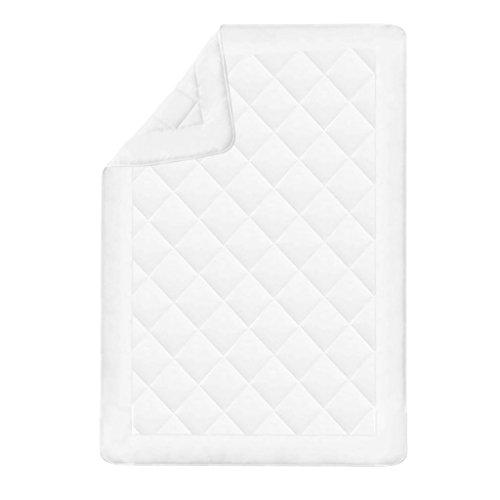 Steppbettdecke für Winter 155 x 200 cm Weiß - 2