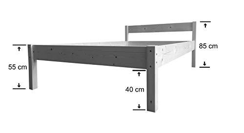 LIEGEWERK Seniorenbett Betthöhe 55cm - 3