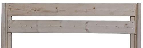 LIEGEWERK erhöhtes Massivholzbett (180cm x 200cm) - 5