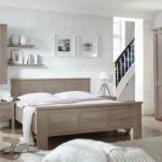 Komfortbett in Eiche Trüffel Klassisch
